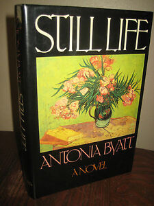 1st-Edition-STILL-LIFE-Antonia-A-S-Byatt-FIRST-PRINTING-Early-Fiction-NOVEL