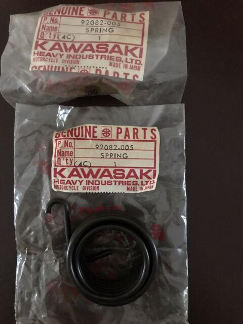 KAWASAKI KX125 KE125 KD125 KS125 KE175 KD175 KICKSTARTER SPRING NOS 92082-005