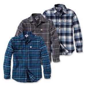 CARHARTT-Trumbull-Slim-Fit-Flanella-shirt-102888-rimanenze