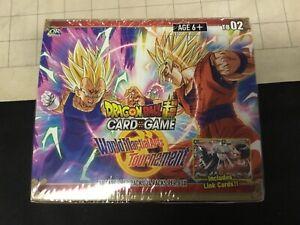 Dragon-Ball-Super-World-Martial-Arts-Tournament-Booster-Box-TB-02-Factory-Sealed