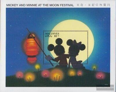 Postfrisch 1996 Walt-disney-figuren kompl.ausg. Stetig Malediven Block360
