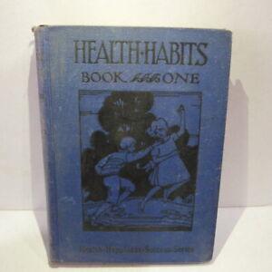 1930 Health Habits Book Lyons & Carnahan PC Burkard Chambers & Maroney School
