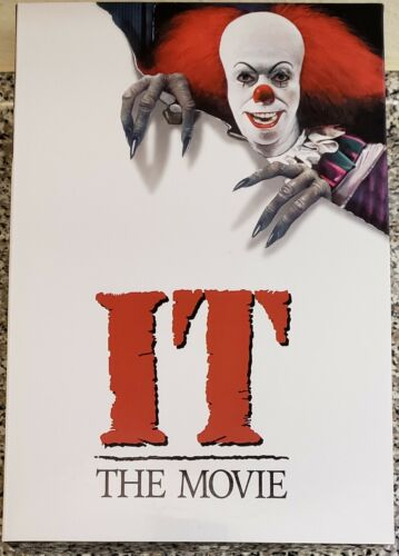 "NECA PENNYWISE 7/"" ACTION FIGURE IT ULTIMATE EDITION NEW 1990"