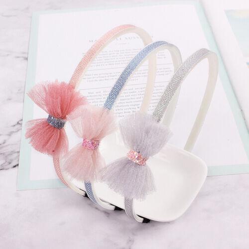 1pcs Kids Cute Bow Tie Cartoon Hair Bands Hoops Girls Headbands Hair Accessories