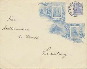 DEUTSCHES-REICH-1806-1906-Centenarfeier-Koenigreich-Wuerttemberg-Privat-Sonder-GU