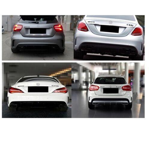 Chrome SL65 AMG V12 BITURBO Trunk Fender Badges Emblems Emblem for Mercedes Benz