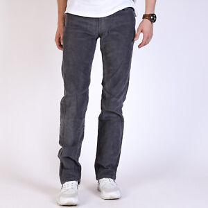 Levi-039-s-514-Straight-Herren-grau-Cord-Hosen-28-32-W28-L32