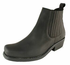 Men-s-Chelsea-Ankle-Boots-Leather-UK-Size-5-6-7-8-9-10-11-12-JOHNNY-BULLS-Spain