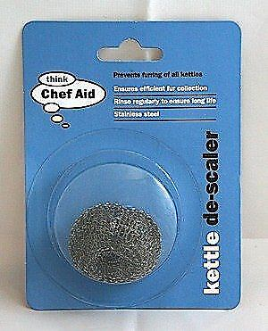 Kettle Descaler Chef Aid Stainless-Steel Metal Furring Remover Scale Clean UK