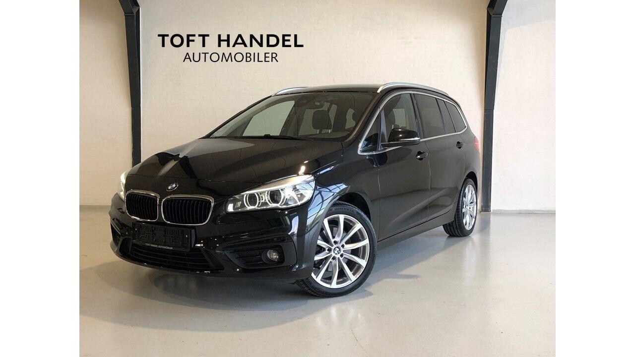 BMW 218d 2,0 Gran Tourer Advantage aut. 7p 5d - 259.900 kr.