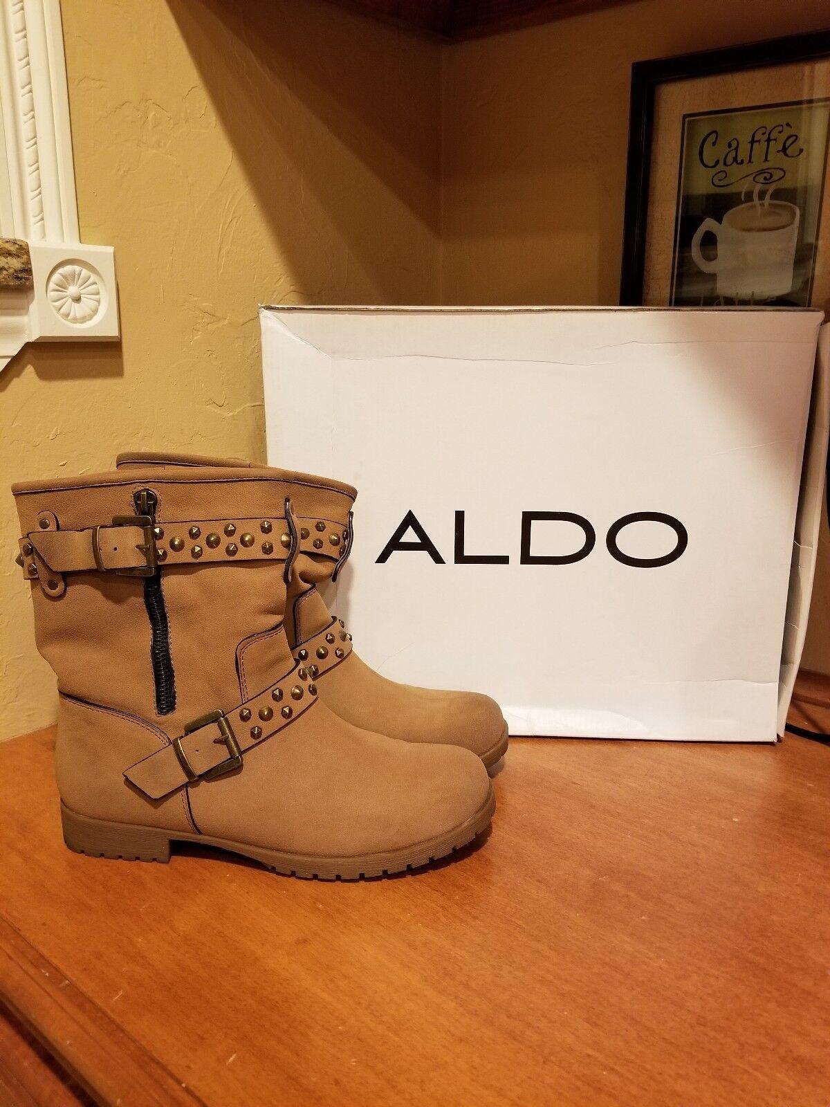 stanno facendo attività di sconto Aldo Shollenbarger stivali stivali stivali Dimensione 38  contatore genuino