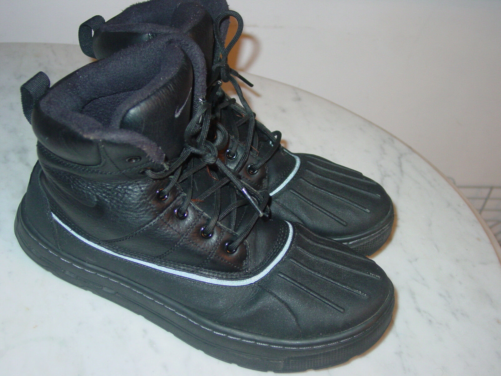 2011 Nike Nike Nike ACG Woodside Black Anthracite Waterproof Winter Boots Size 8.5  160.00 17127e