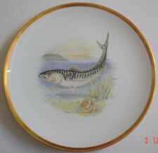 Hutschenreuther Bavaria Germany Collectors Plate ATLANTIC MACKEREL