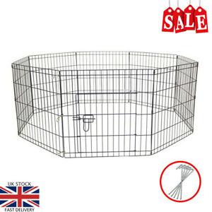 Chien de compagnie stylo pour chien chiot chat lapin parc pliant intérieur clôture extérieure intérieure exécuter Safe