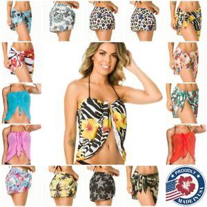 a0241edf4f5ffd Image is loading COQUETA-Beach-cover-up-Bikini-Swimwear-Coverup-Sarong-