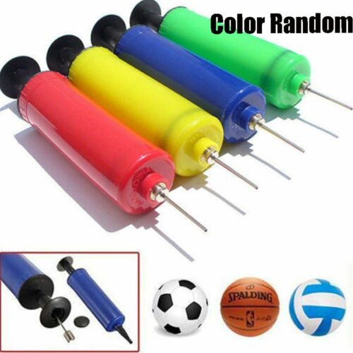 A Ball Inflator Inflating Air Hand Pump Needle Sport Football Soccer Basketball