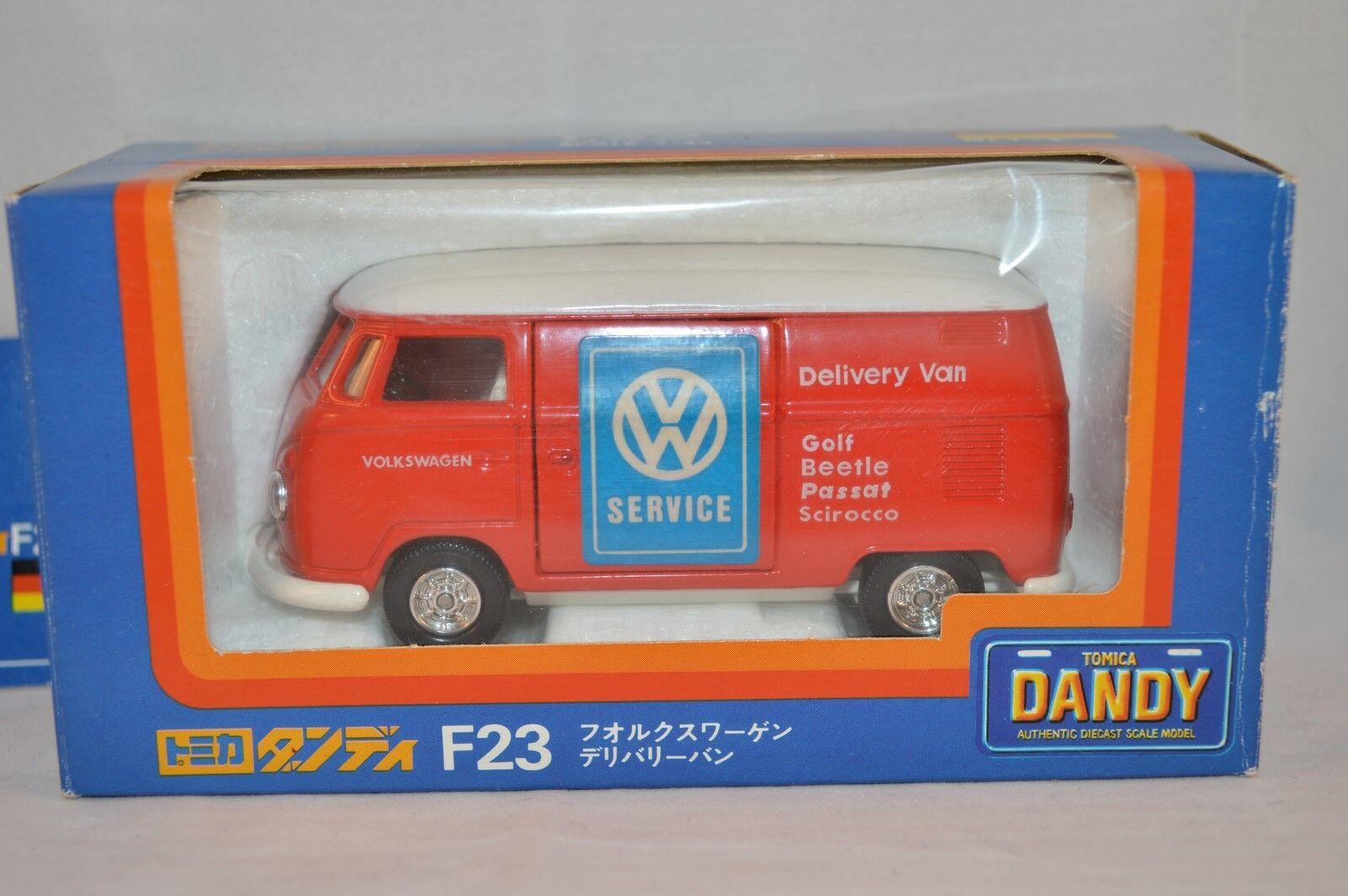 Tomica 1 43 F23 Volkswagen Bulli Van  Mint in Box.