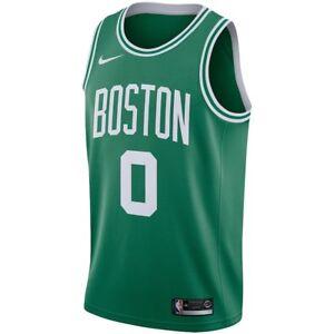 New Nike 2018-2019 Boston Celtics Jayson Tatum  0 Icon Edition ... 7a00c3552