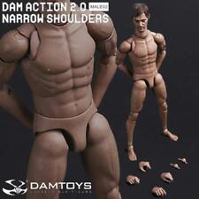 "DAM DAMToys 1/6 Scale 12"" Narrow Shoulders Male Body Figure 2.0 MALE02 Daryl"