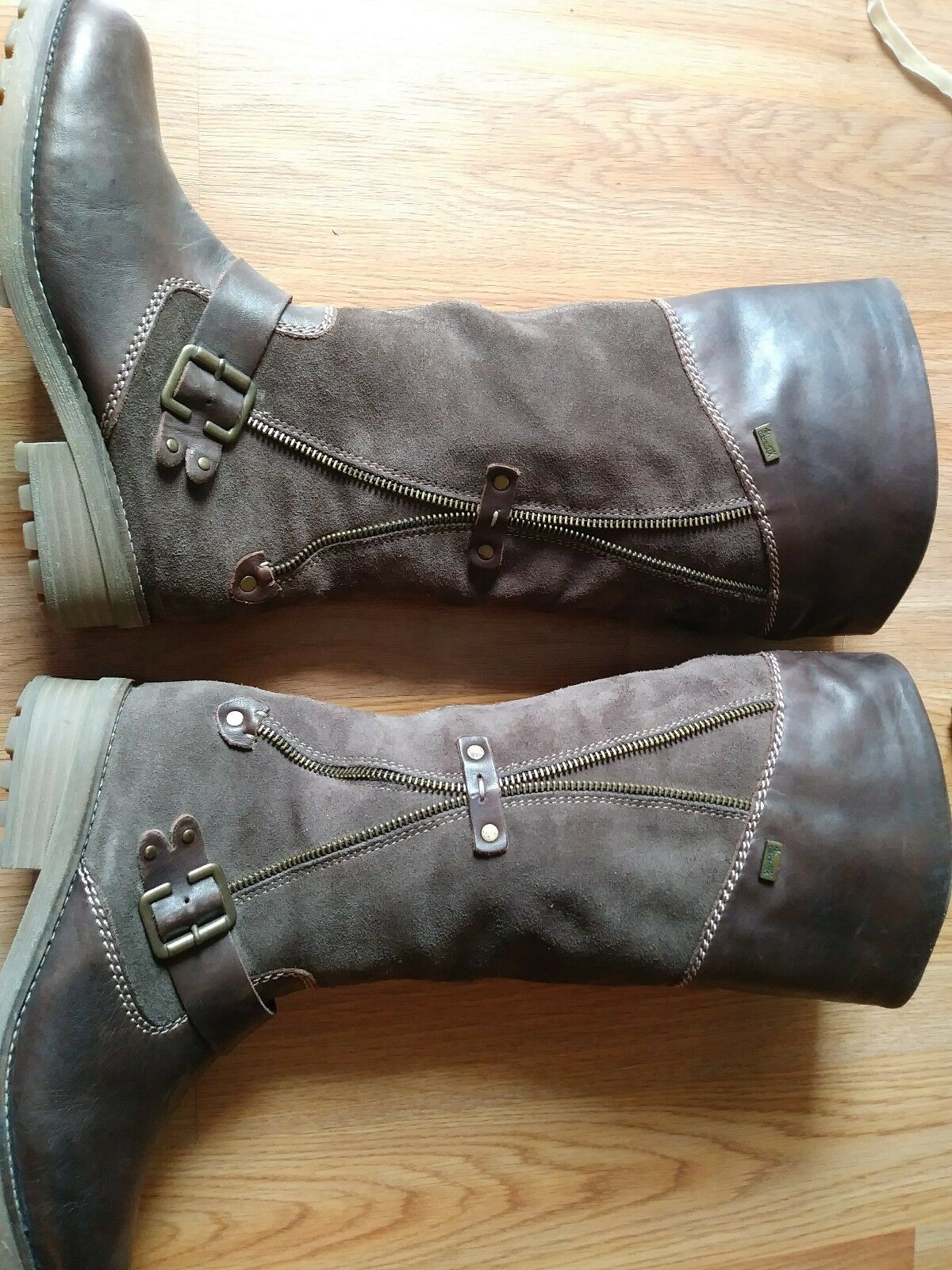 Rieker Womens Girls Girls Girls Boots Size 36 Fully Lined dab3c6