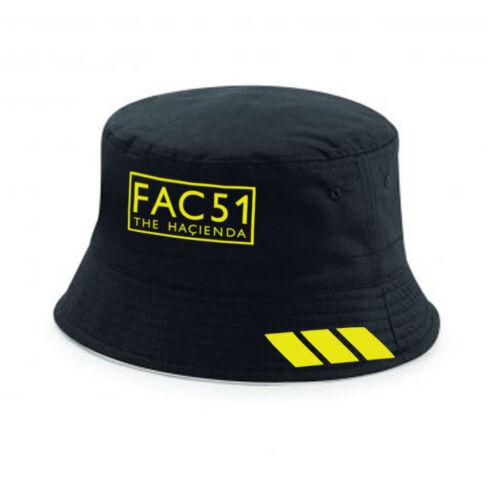 Fac 51 Hacienda Manchester Roses Happy Mondays Style  Bucket Hat