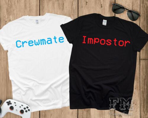 Compagnon ou imposteur parmi nous des chemises cadeau de Noël Gamer Kids Shirt parmi nous Costume