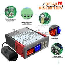 Digital Stc 3028 Temperatureamphumidity Controller Display Dc24v Probe Ntc Sensor