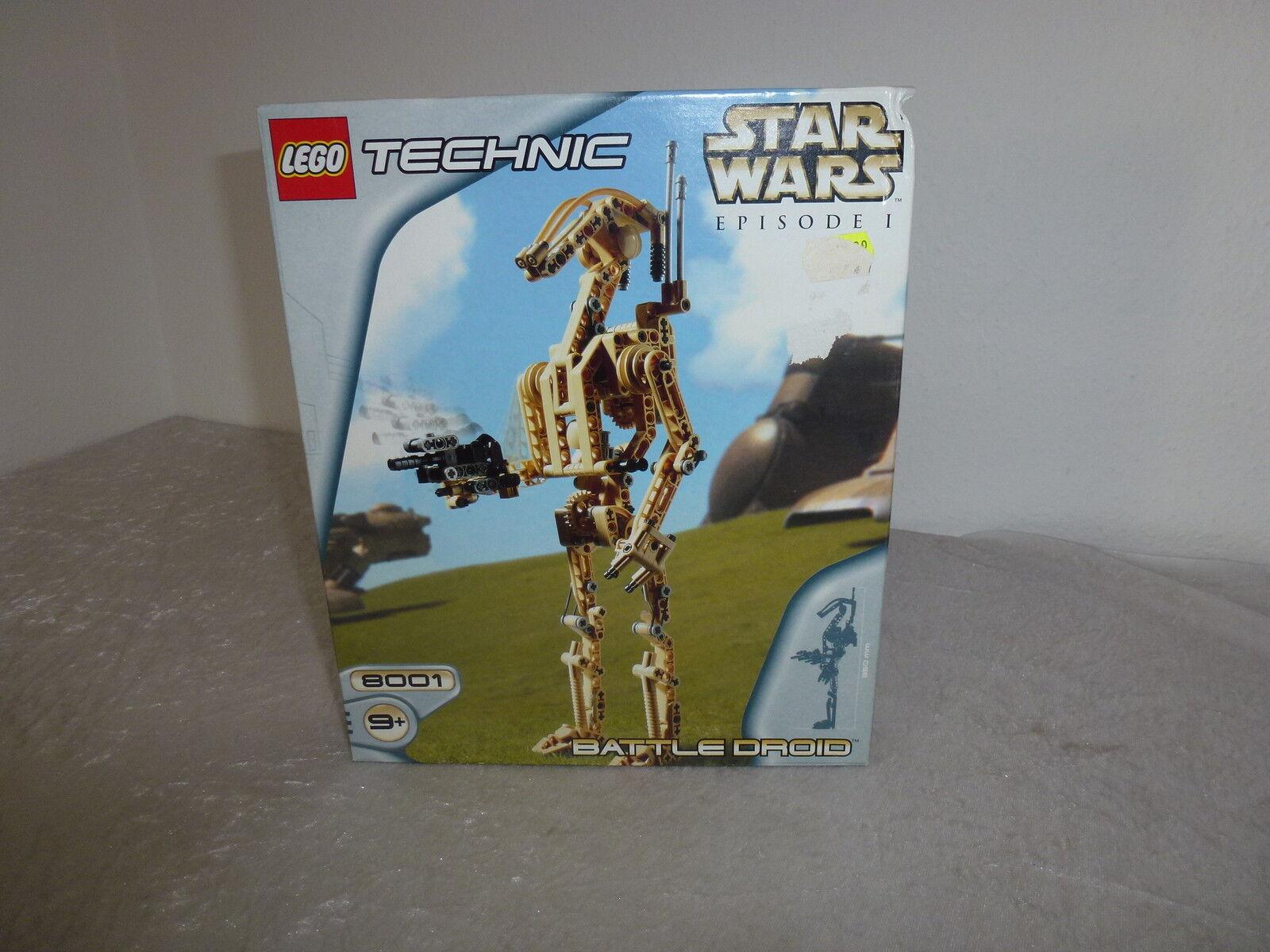 Lego Star Wars TECHNIC 8001 NEU +OVP+ OBA Rarität  + UNGEÖFFNET+VERSIEGELT