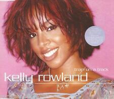 KELLY ROWLAND - Train On A Track (UK 4 Tk Enh CD Single Pt 1)