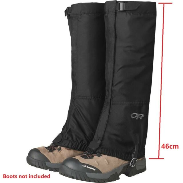 ( Black) - Outdoor Research Men's Rocky Mountain High Gaiters. Brand New