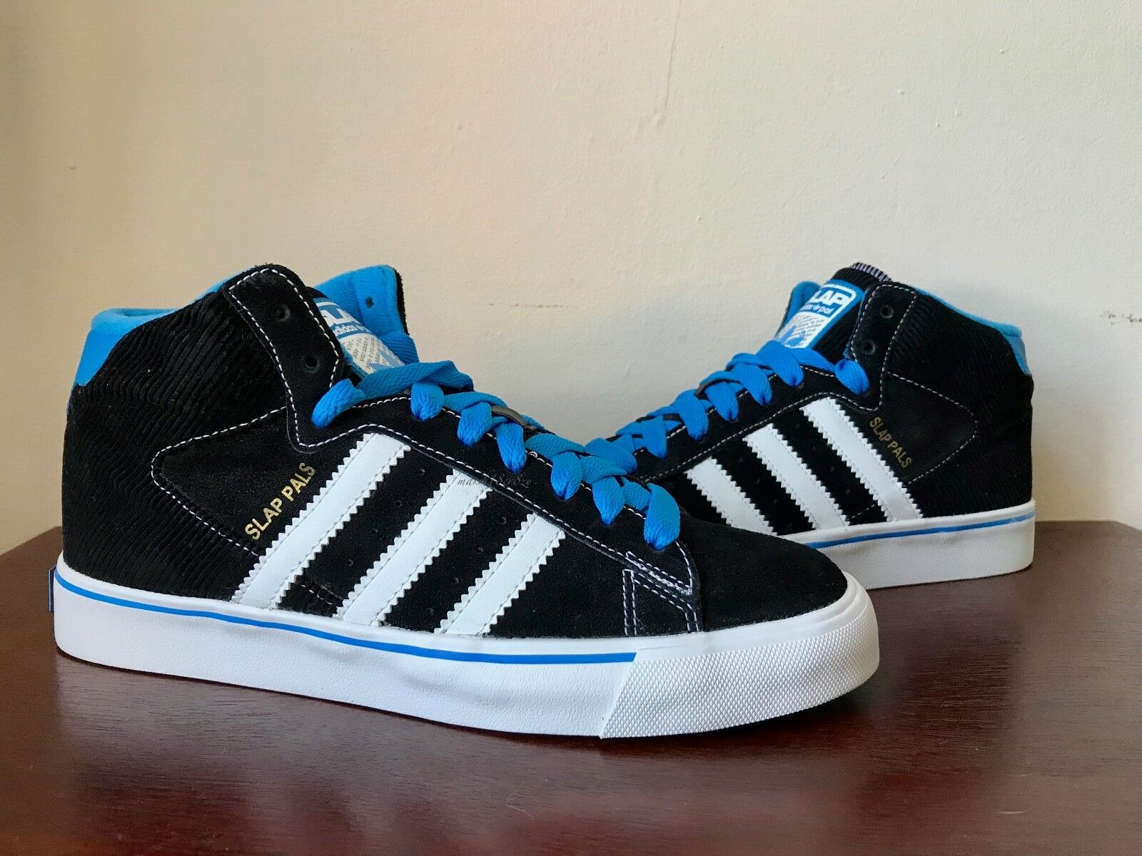 Adidas x  Slap Magazine  Slap Pals  Campus Vulc Mid sz 7 Very Rare From 2009  outlet factory shop