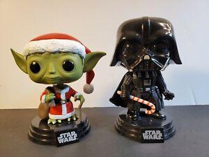 Holiday-Santa Yoda Brand New in Box Funko-Pop Star Wars