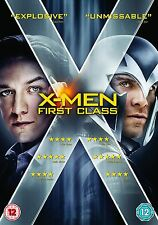 X-Men - First Class (2012) Rose Byrne, January Jones, Lucas  NEW UK REGION 2 DVD