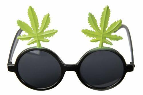 Party Glasses Plant Hippie Rasta Hippy 60s 70s Mod Retro Vintage Classic