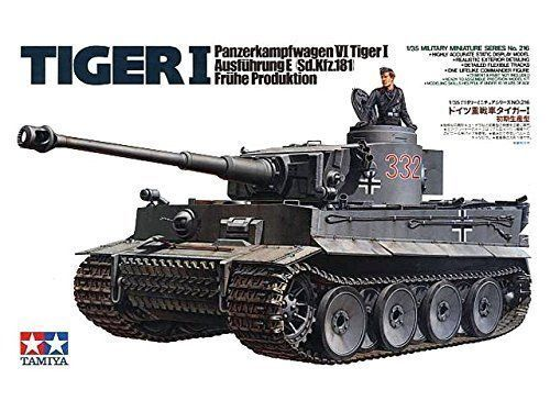 German Tiger I Early Production 1 35 Military Model Kit - Tamiya 35216