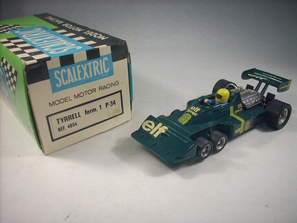 Scalextric Exin  4054 Tyrrell P-34 F1 verde