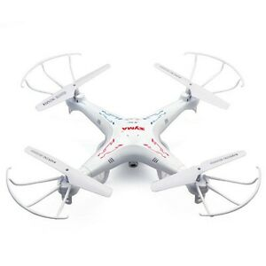 Syma X5C-1 RC Quadcopter Drone W/2MP Camera+5pc xSpare Batteries+5-In-1 Charger
