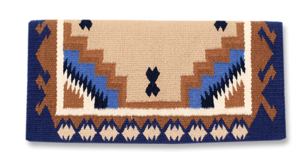 Mayatex Haymaker Navajo Saddle Blanket 38x34