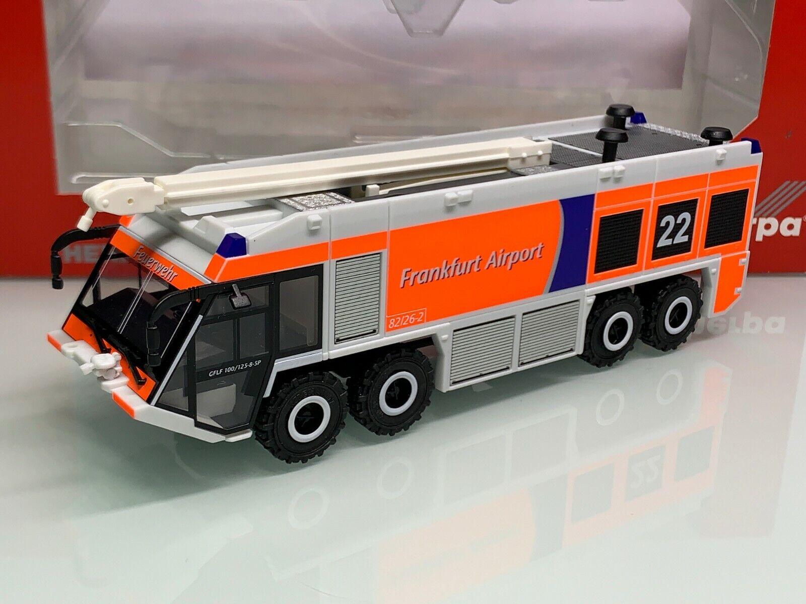 Herpa 092135 pompiers Fraport aéroport Frankfurt a.M. Ziegler z8 XXL GFLF 7120