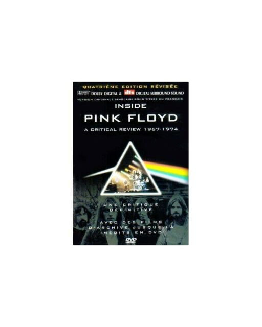 DVD INSIDE PINK FLOYD A CRITICAL REVIEW 1975-1996 823880015786