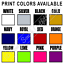 Personalized-Custom-Print-Your-Own-Text-T-Shirt-Customized-Tee thumbnail 5