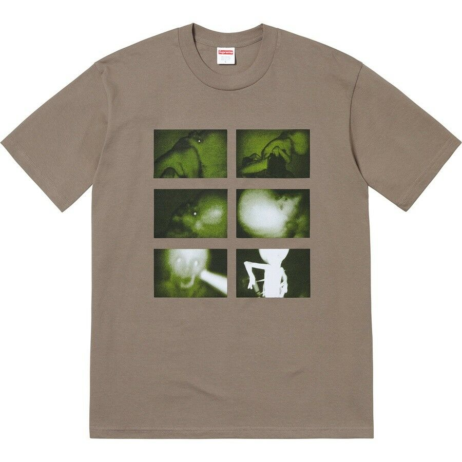 Supreme Chris Cunningham Rubber Johnny Tee Taupe L