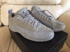 timeless design 923bc 2cbb6 Air Jordan 12 XII Retro Low Mens 308317-002 Wolf Grey Suede Shoes Size 10