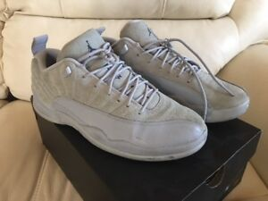 factory price 110aa 6cb2e Image is loading AIR-JORDAN-12-RETRO-XII-LOW-WOLF-GREY-