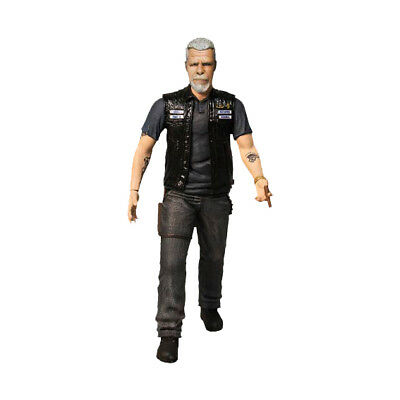 Mezco Sons of Anarchy Bobblehead Clay Morrow STATUE NEW IN SEALED BOX Figure