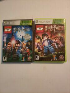 LEGO Harry Potter Games Years 1-4 & Years 5-7 (Microsoft Xbox 360, 2011) Bundle