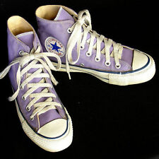 Vintage USA-MADE Converse All Star Chuck Taylor PURPLE size 5 women EXCELLENT!