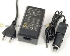 EU Plug BATTERY CAR CHARGER FOR SONY NP-FH50 FH70 FH100
