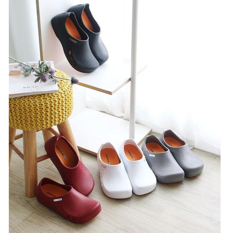 STICO   Herren Chef Kitchen Slip Resistant Safety Rubber Occupational Schuhes NEC03H