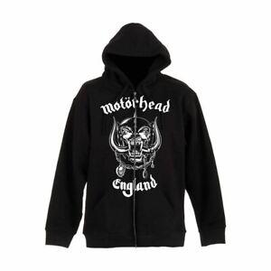 Motorhead-England-Black-Zip-Up-Hooded-Sweater-Unisex-Jacket
